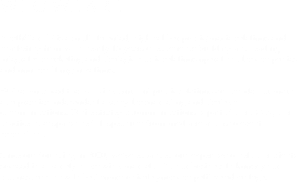 WHO WE ARE NorthStar PR is a multi-talented, high-caliber public/media relations and marketing firm with nearly 15 years of experience building and leading integrated marketing and strategic public relations operations for companies and non-profit organizations. We've embraced the evolving world of public relations and made our mark as a premier independent agency for marketing and strategic communications. While strategic communications is part of our DNA, our practice now spans the full spectrum from media relations to event promotions. Since our founding in 2000, we've expanded our expertise to help our clients succeed in a variety of growing markets. It's our business to know your business and how to best communicate your competitive advantage.